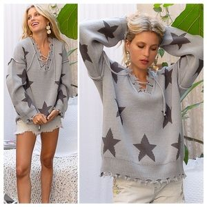 POL It's Back! All about Stars Knit Sweater